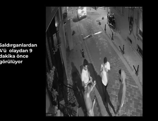 Barış Atay'a saldırıya ilişkin görüntüler ortaya çıktı