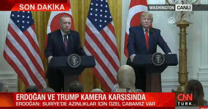 Trump'tan Sabah yazarı Hilal Kaplan'a: Gazeteci olduğunuzdan emin misiniz? Türk hükümeti için çalışmıyor musunuz? | Video izle