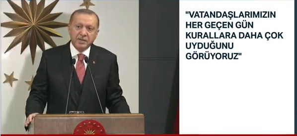 Erdoğan: 7 aylık maaşımı bağışlıyorum