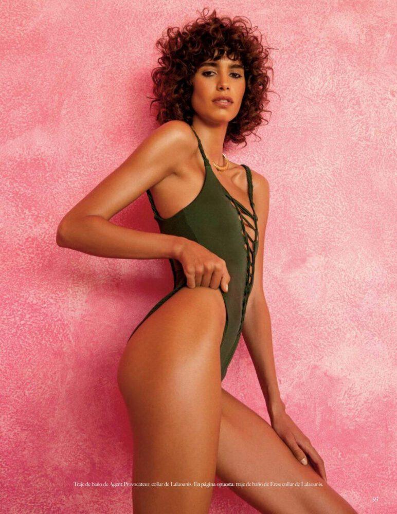 Mica Arganaraz Vogue Magazin çekimlerinde