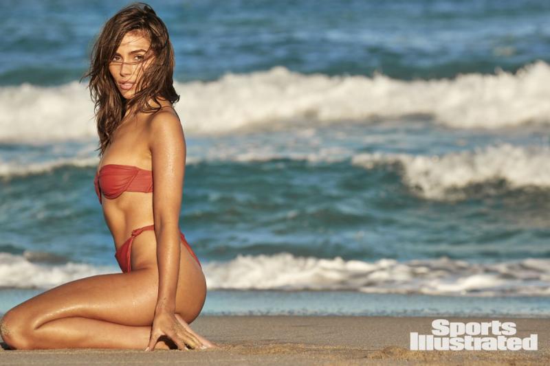 Olivia Culpo Sports Illustrated çekimlerinde