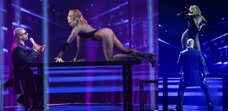 Jennifer Lopez Amerikan Müzik Ödülleri etkinliğinde