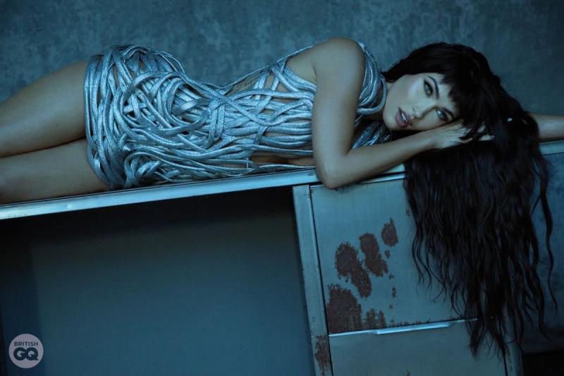Megan Fox GQ Style Magazin çekimlerinde