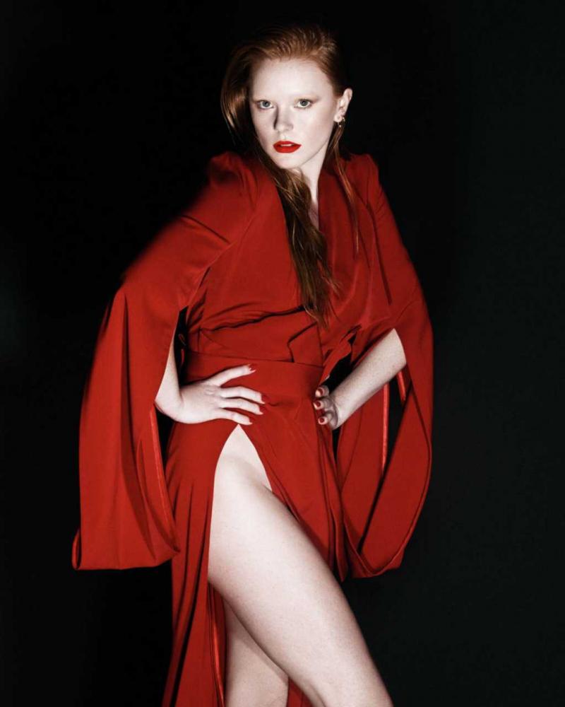 Abigail Cowen Flaunt Magazin ve Instyle Mexico çekimlerinde