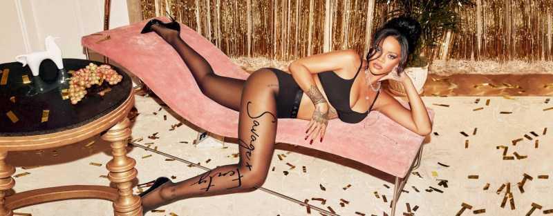 Rihanna SavegeXFenty çekimlerinde