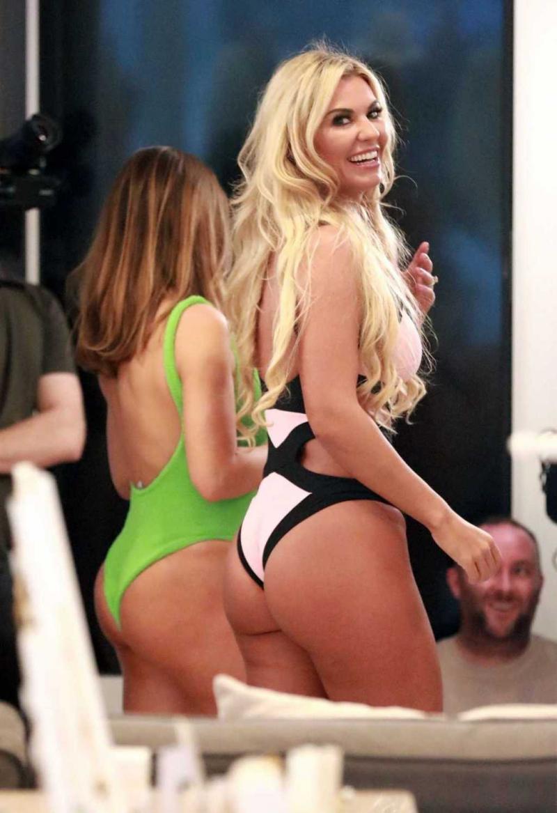 Christine McGuinness bikiniyle sette