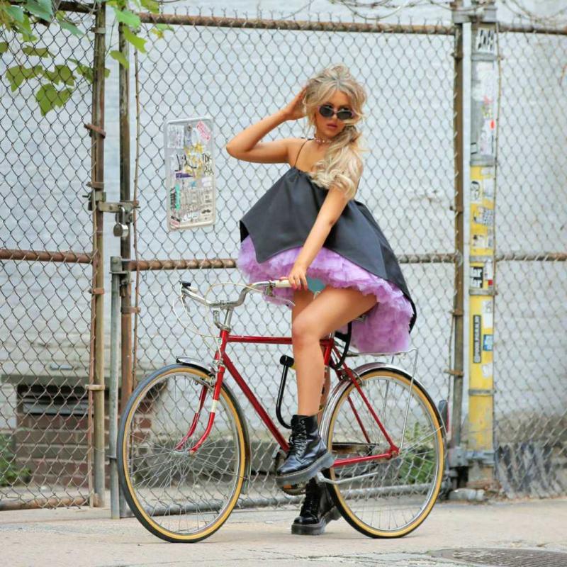 Parker Winston New York'ta fotoğraf çekimlerinde
