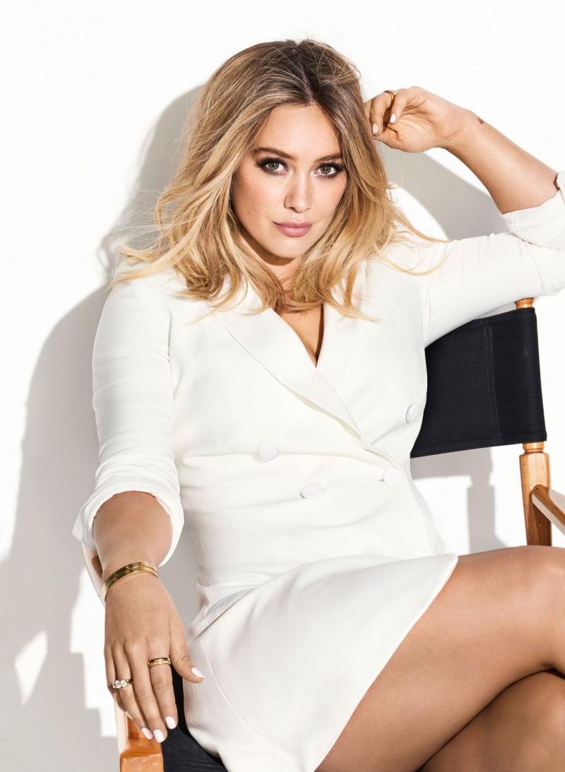 Hilary Duff Cosmopolitan çekimlerinde