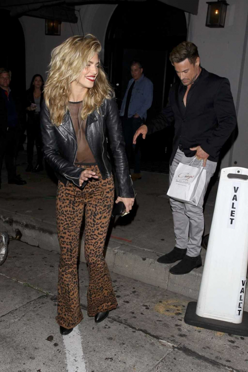 AnnaLynne McCord taytla Batı Hollywood'da