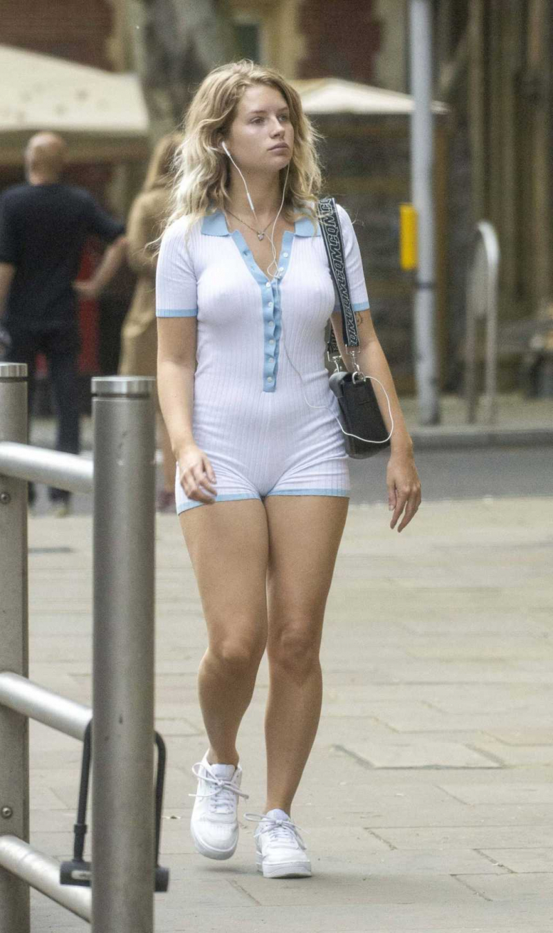 Lottie Moss Londra'da