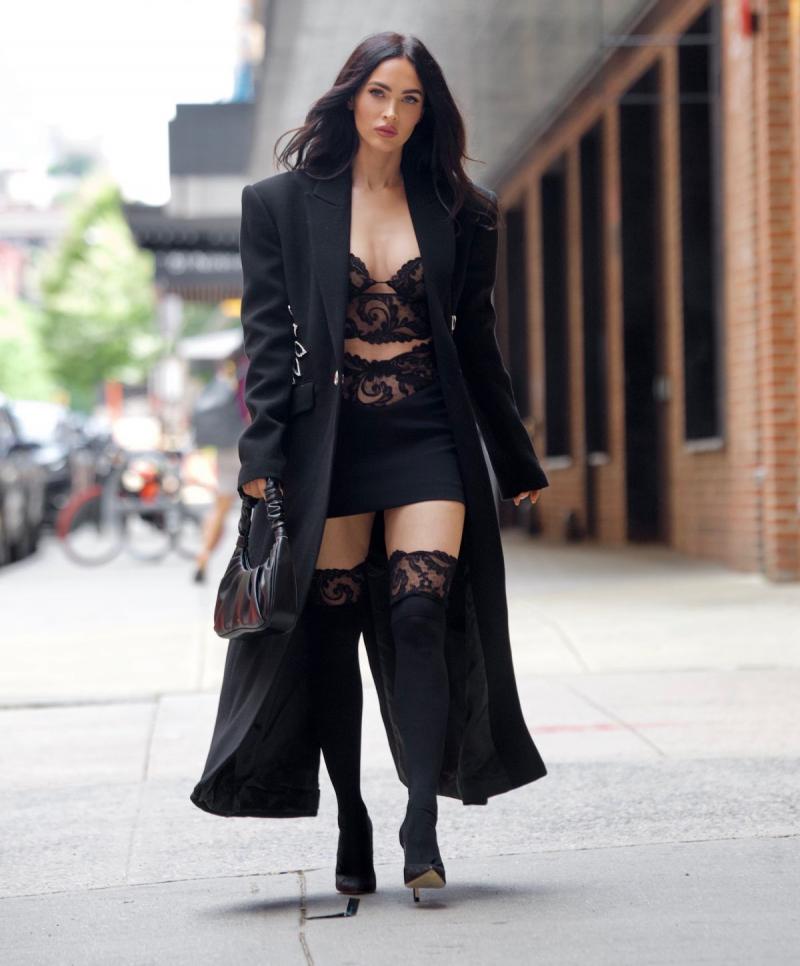 Megan Fox New York moda haftası etkinliğinde
