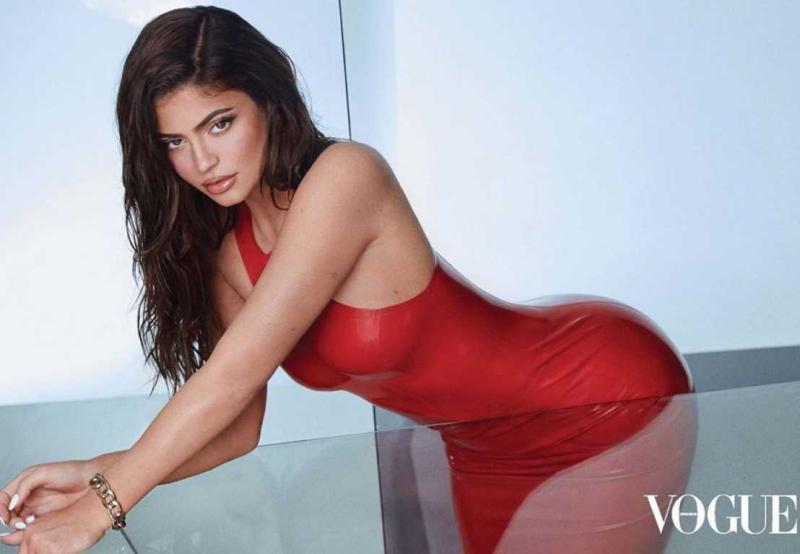 Kylie Jenner Vogue Magazin Ağustos 2020 çekimlerinde