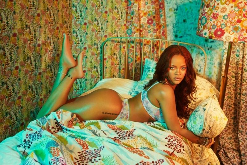 Rihanna – Savage x Fenty iç çamaşırı çekimleri
