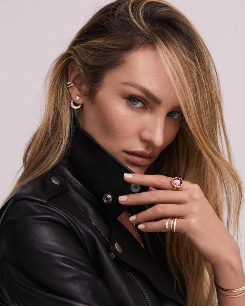 Candice Swanepoel Logan Hollowell Jewelry çekimlerinde