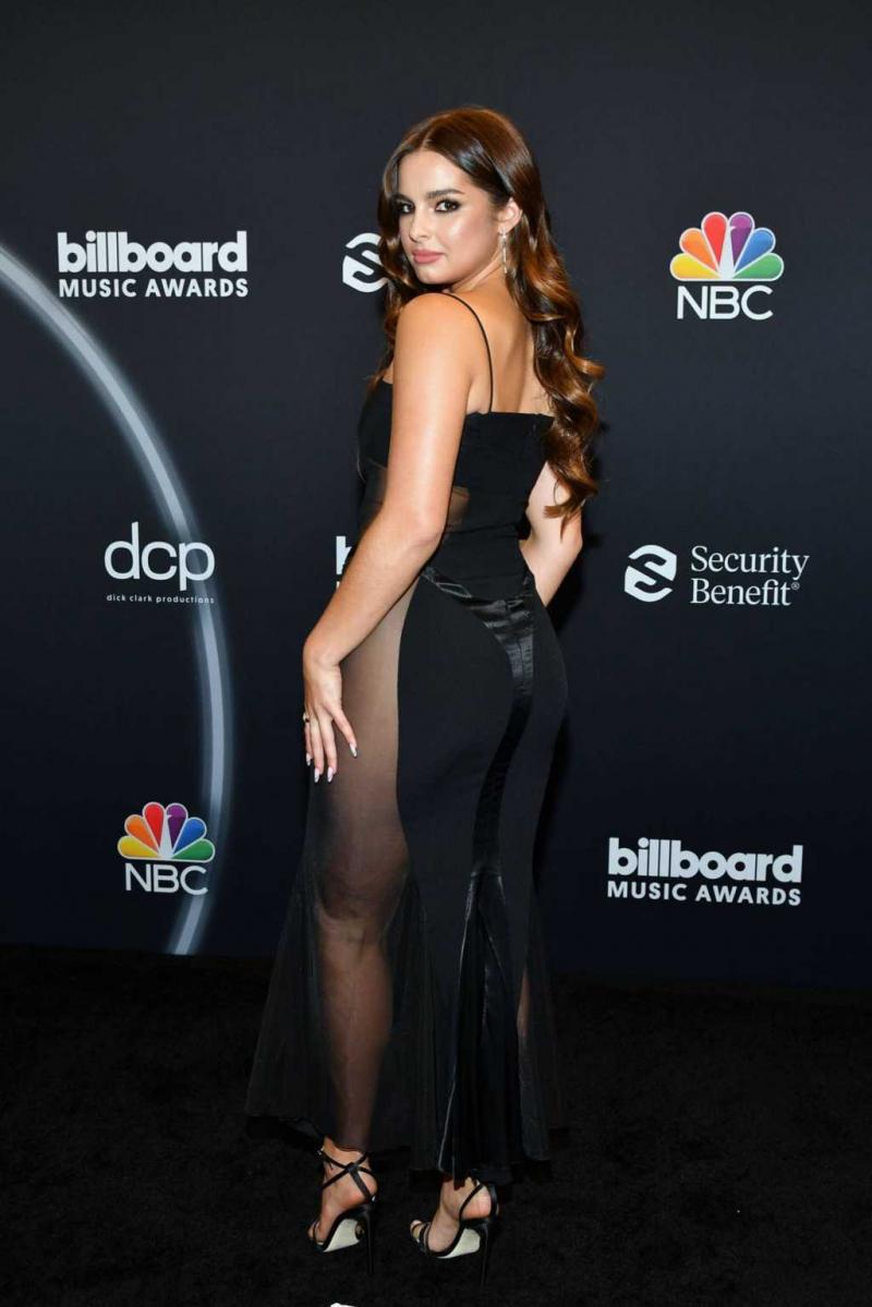 Addison Rae 2020 Billboard müzik ödülleri etkinliğinde