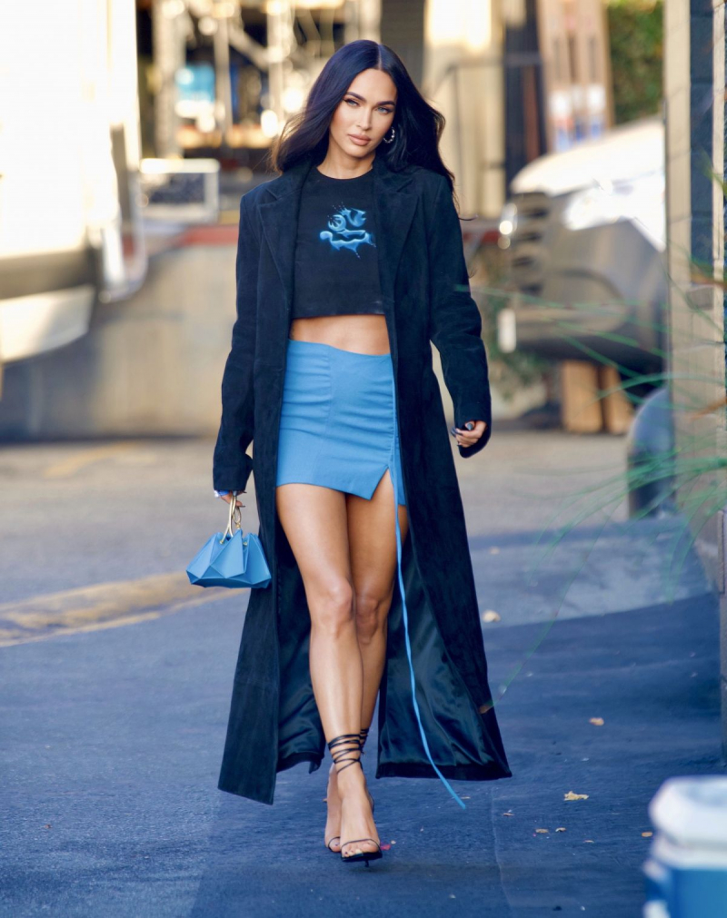 Megan Fox mini etekle Beverly Hills'te