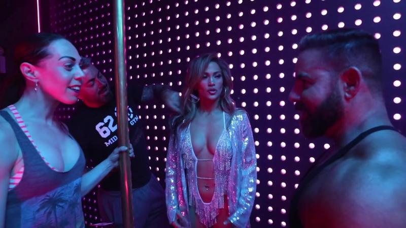 Jennifer Lopez Hustlers çekimlerinde