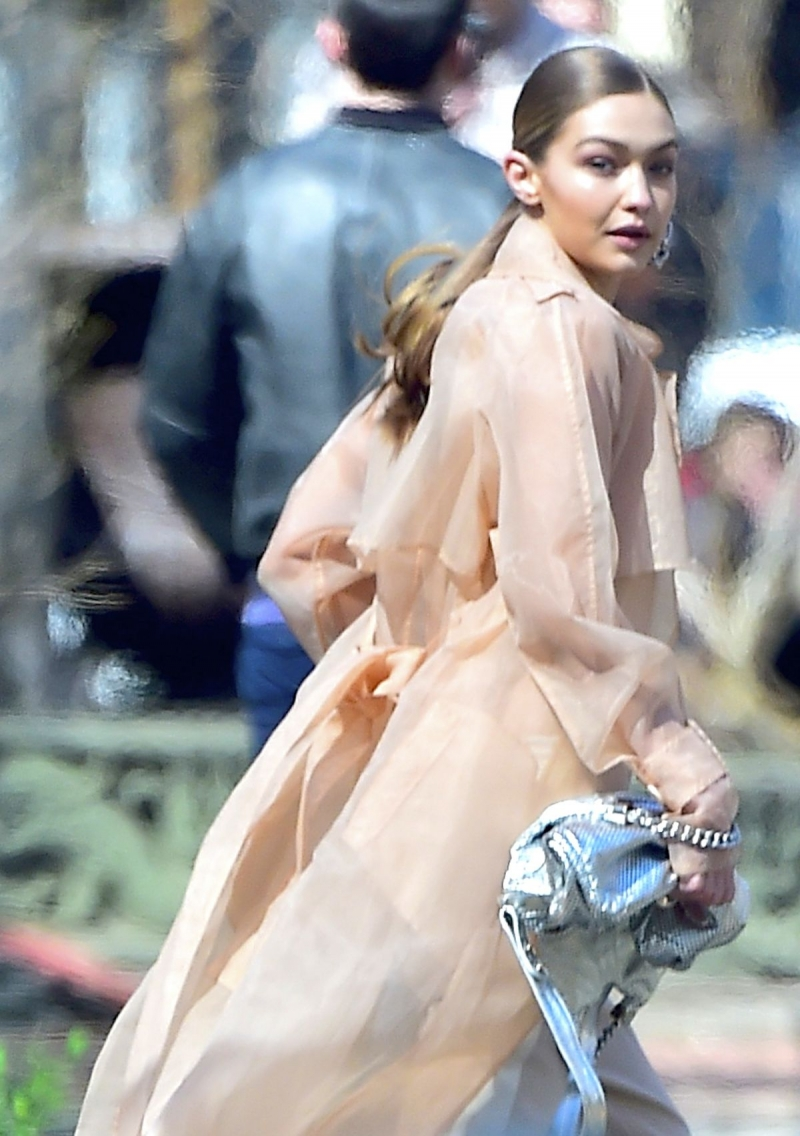 Gigi Hadid set- New York