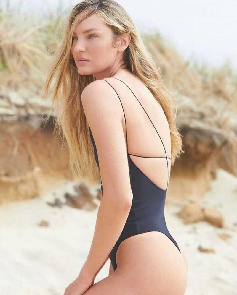 Candice Swanepoel 2020 Tropic of C çekimlerinde
