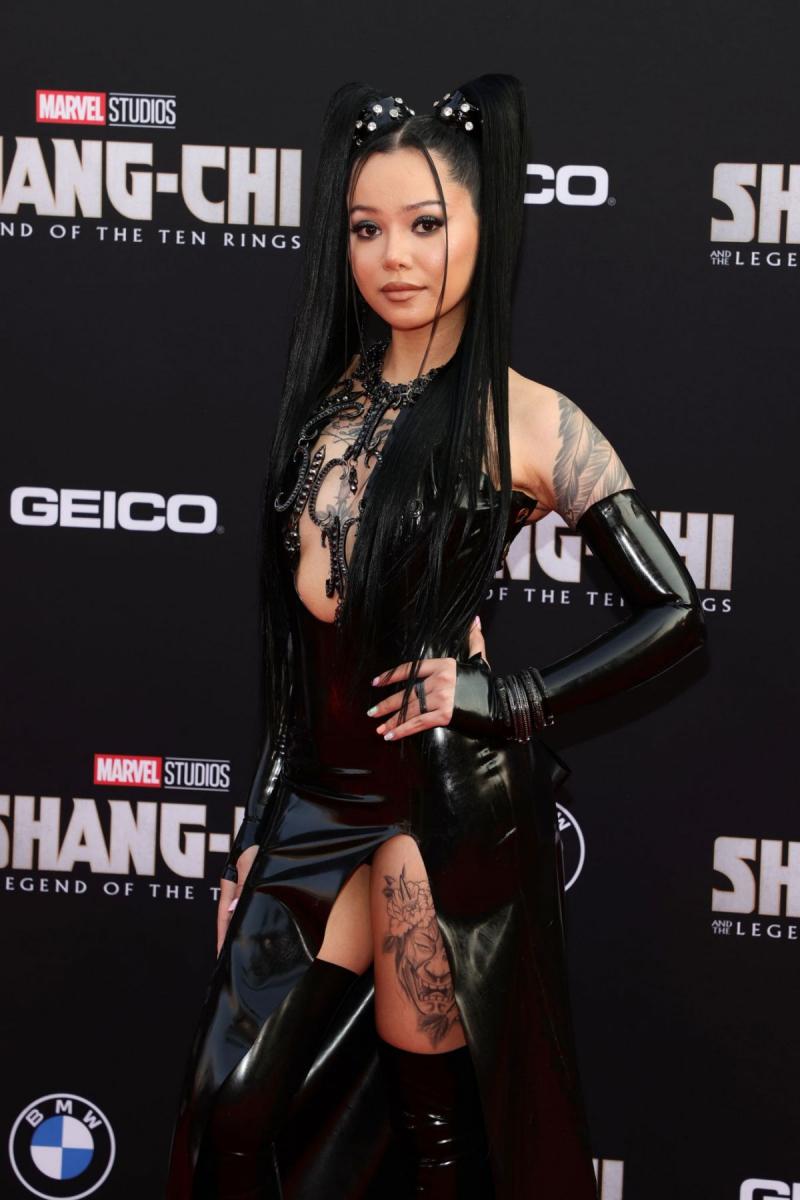Bella Poarch 2021 MTV Video Müzik Ödülleri etkinliğinde