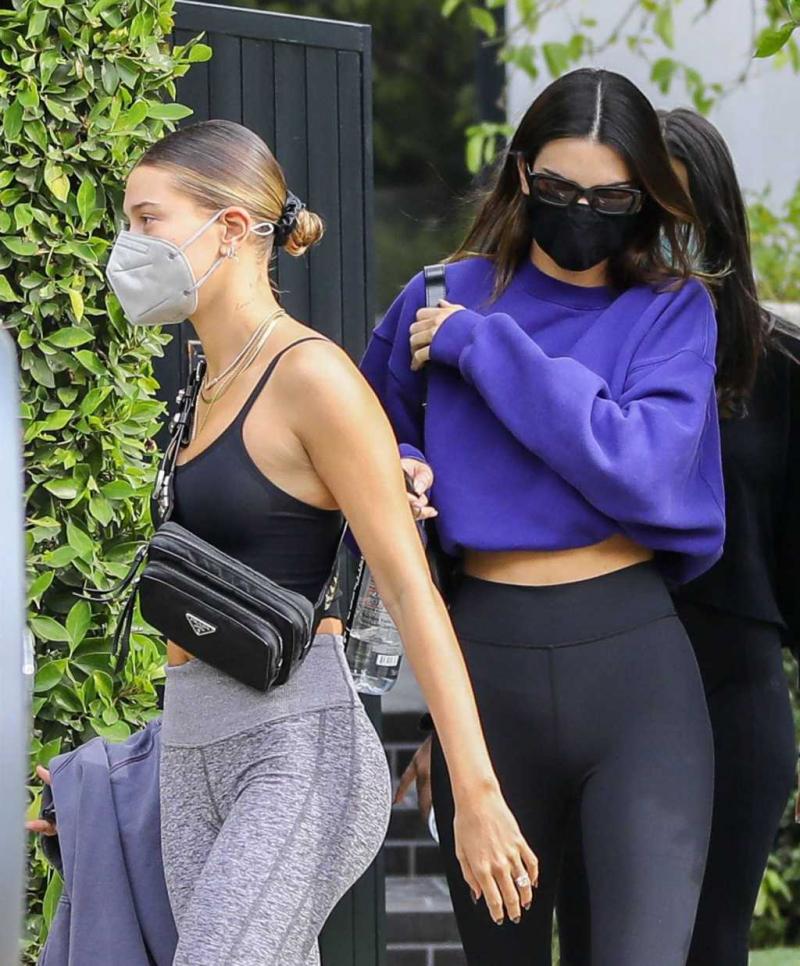 Kendall Jenner taytla Los Angeles'ta 14/01/2021