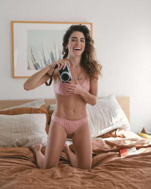 Nikki Reed Spell & Women's çekimlerinde