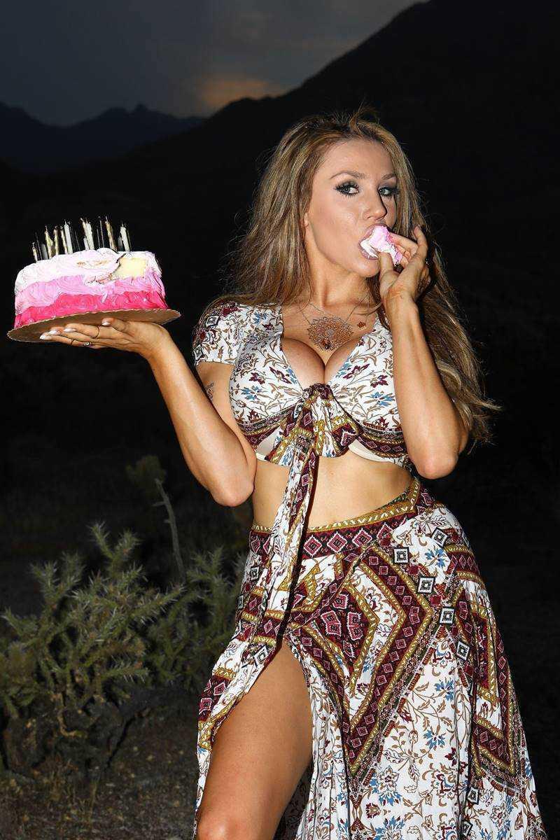 Courtney Stodden doğumgünü kutlamasında
