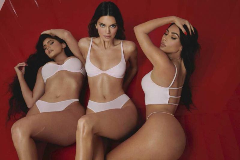 Kendall Jenner Skims Valentine 2021 çekimlerinde
