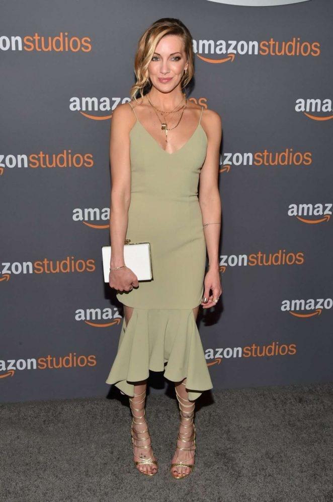 Katie Cassidy – 2017 Amazon Studios Golden Globe etkinliği