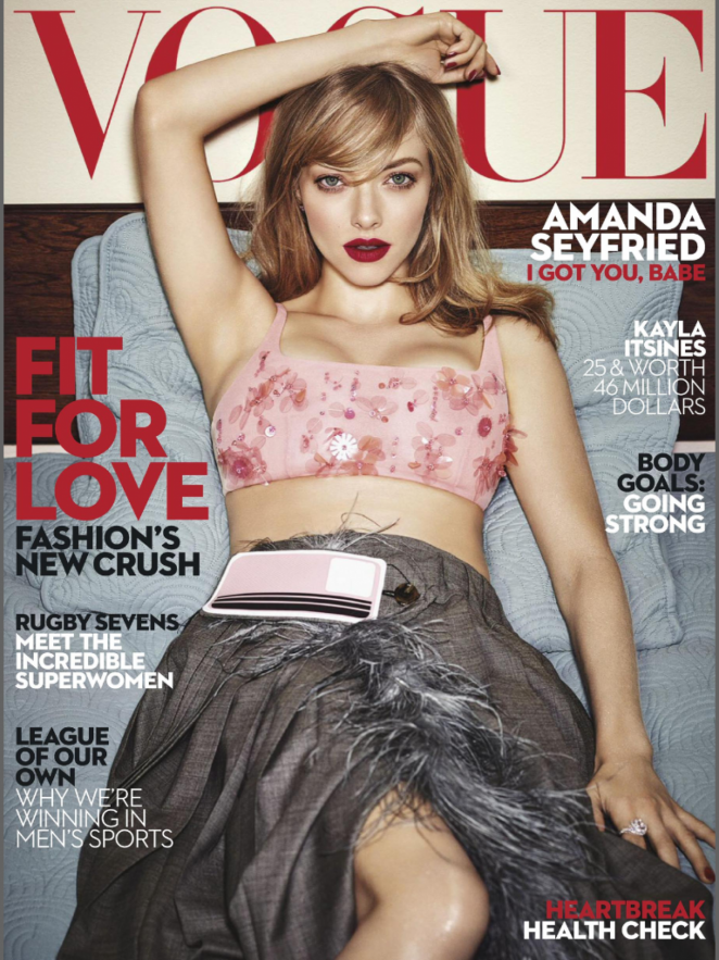 Amanda Seyfried – Vogue Australia Magazin