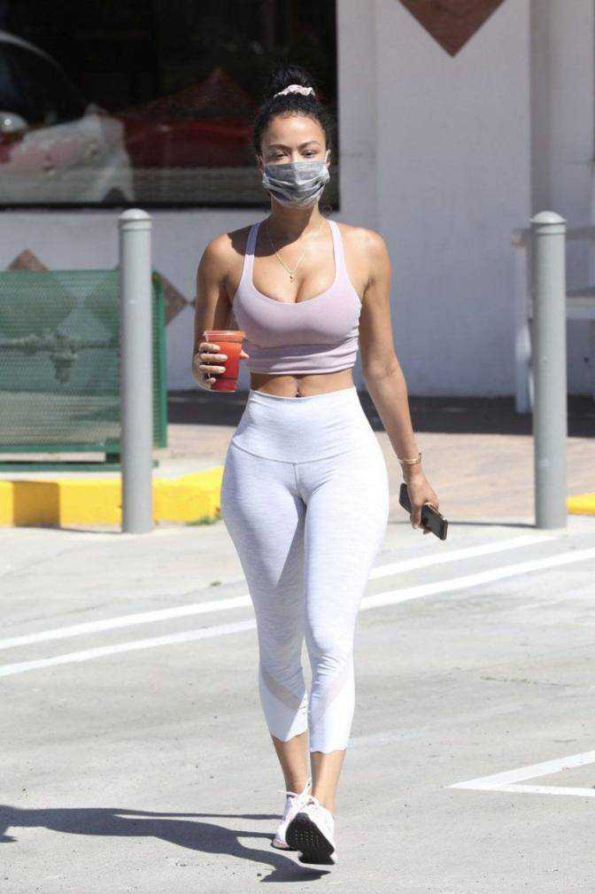 Draya Michele taytla Los Angeles'ta