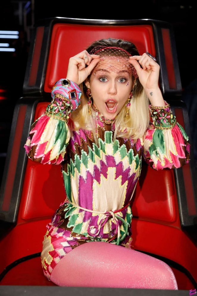 Miley Cyrus – The Voice