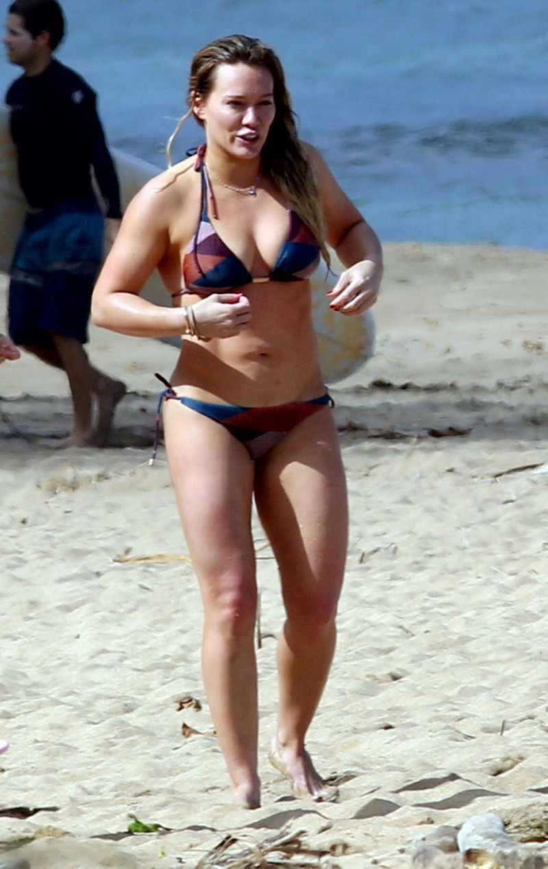Hilary Duff - Hawaii plajı