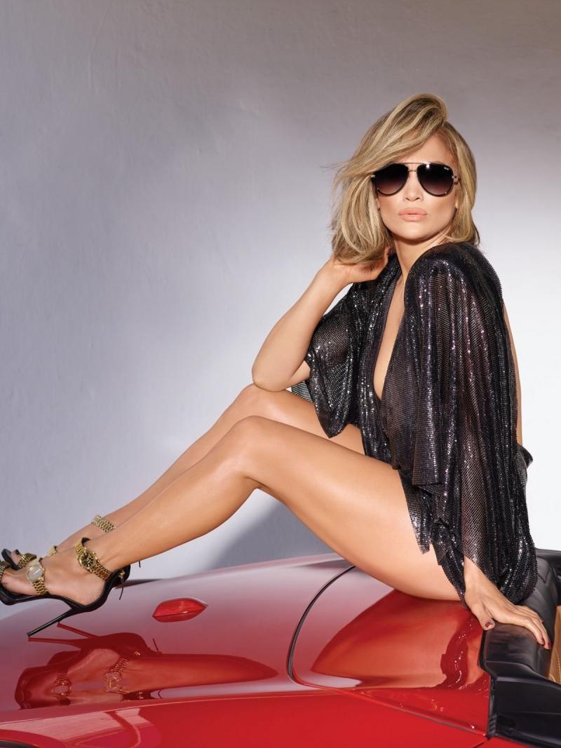 Jennifer Lopez çekimlerde