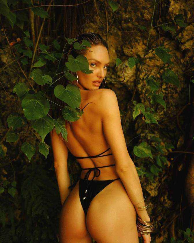 Candice Swanepoel I And I çekimlerinde
