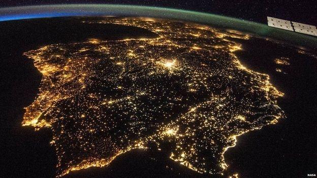 Astronotların gözünden Dünya