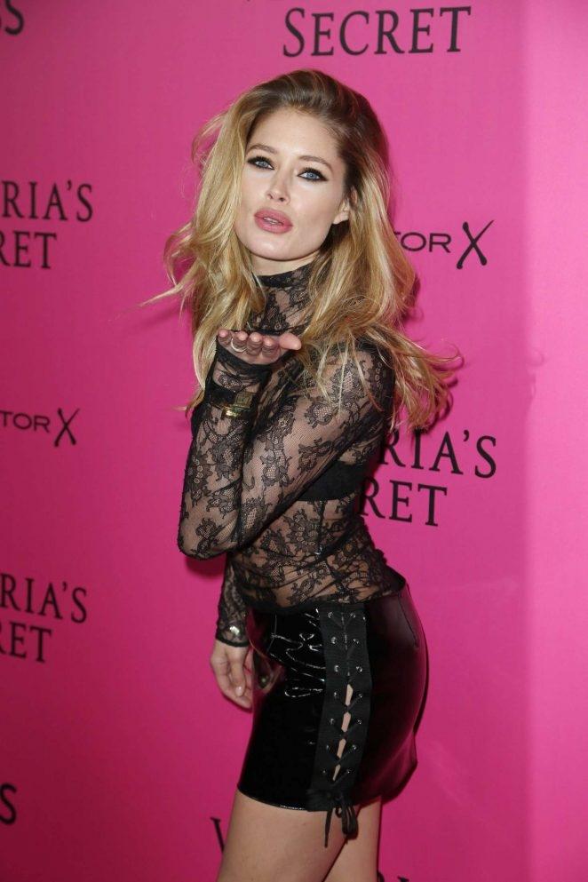 Doutzen Kroes – Victoria's Secret moda etkinliği