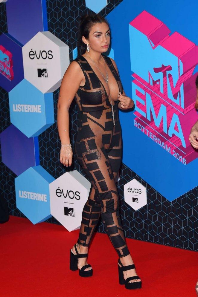 Elettra Lamborghini 2016 MTV Müzik ödüllerinde
