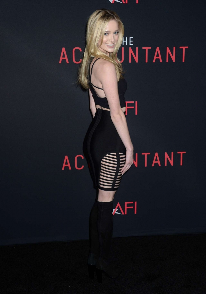Greer Grammer – The Accountant Prömiyeri
