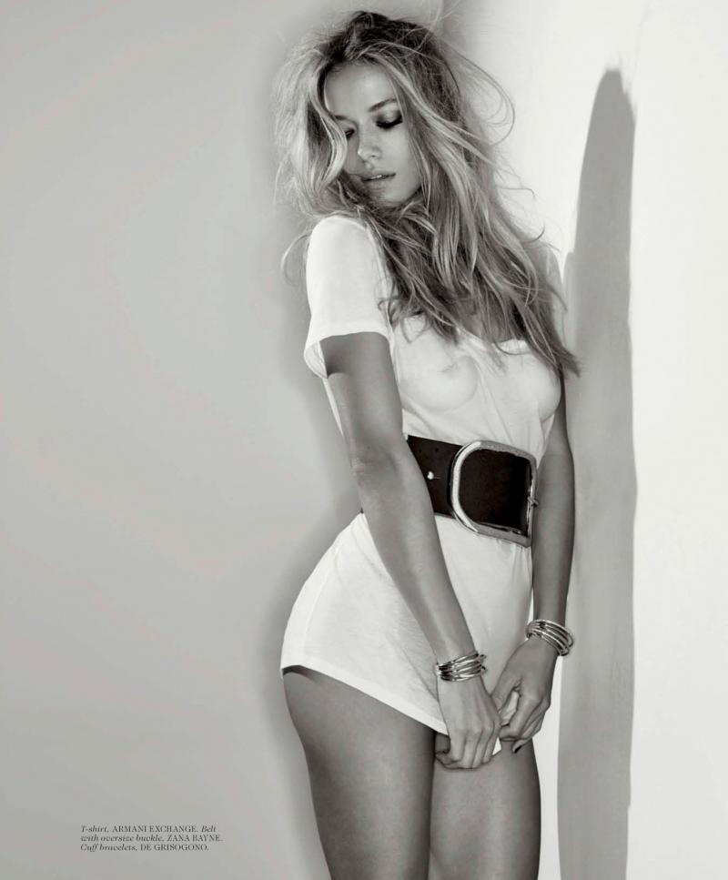 Hannah Ferguson  Maxim Magazin çekimlerinde