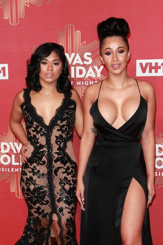 Hennesy ve Cardi B – 2016 VH1's Divas Holiday etkinliği