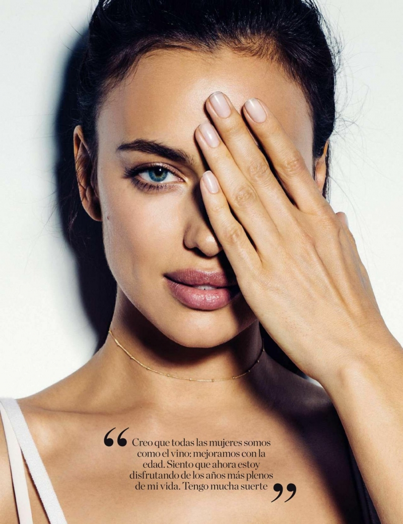 Irina Shayk – Elle Magazin çekimleri