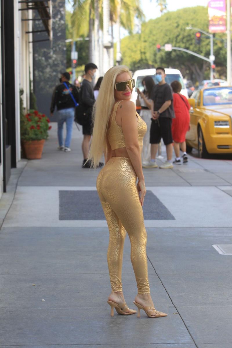Marcela Iglesias taytla Beverly Hills'te