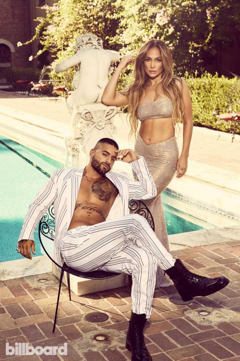 Jennifer Lopez Billboard Magazin Ekim 2020 çekimlerinde