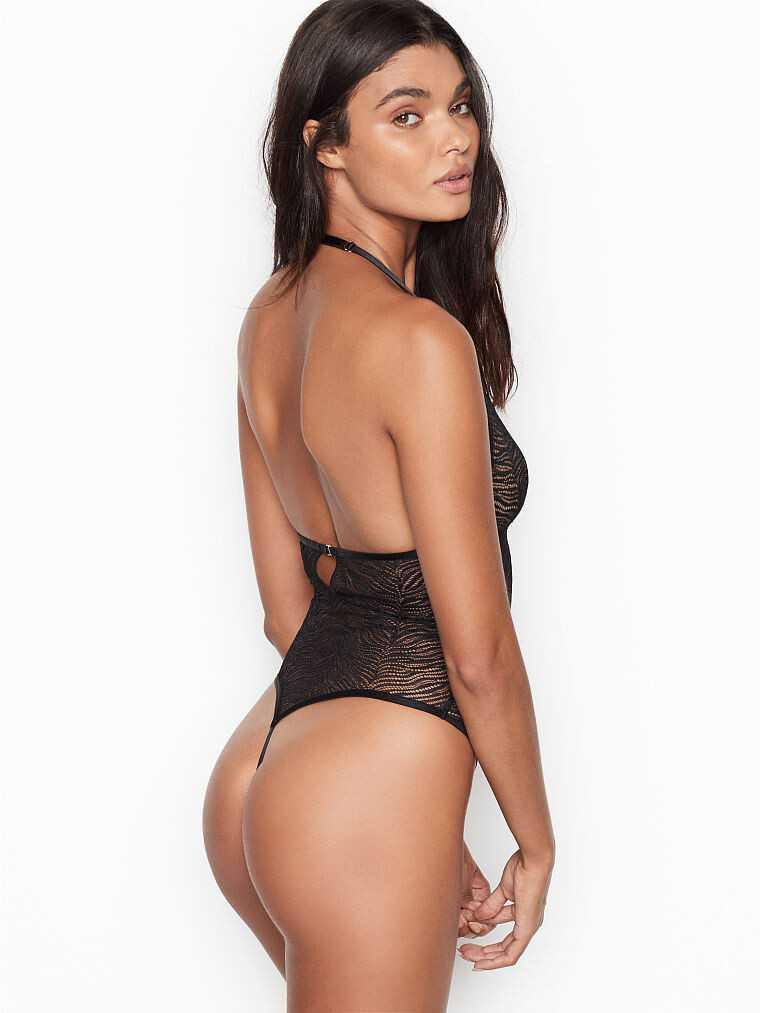 Daniela Braga 2019 Victoria's Secret iç çamaşırı çekimlerinde