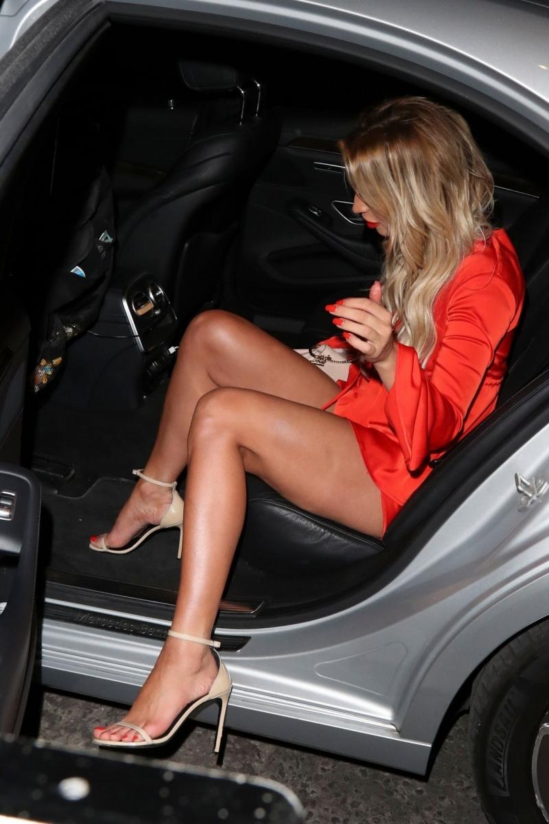 Ferne McCann mini elbiseyle