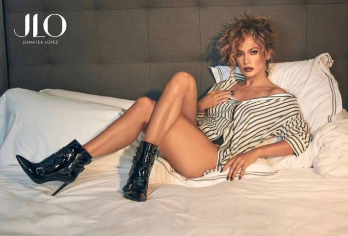 Jennifer Lopez DSW Fall çekimlerinde