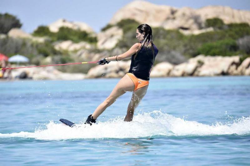 Melissa Satta Sardinia'da