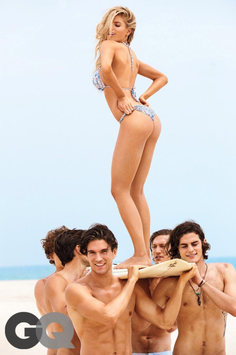 Charlotte McKinney GQ Girl of Summer çekimlerinde