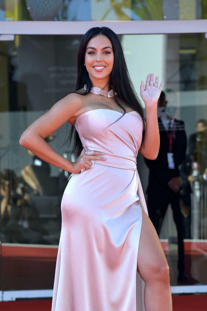 Georgina Rodriguez 2020 Venice film festivalinde